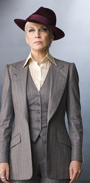 "Classy, nicely tailored 3-piece suits are one of my favorite things. :) - ""Annie Lennox, circa 2010"""