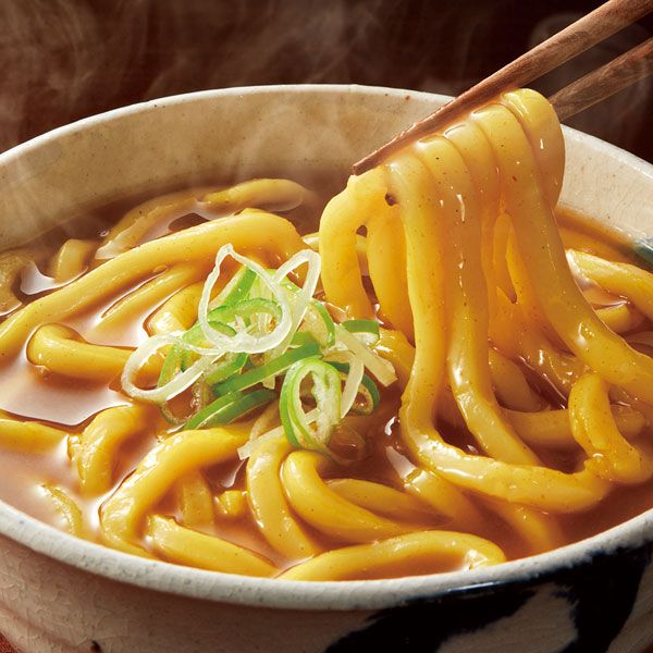 Curry Udon Noodles is just what it says it is! Instead of rice, thick udon noodles are mixed with Japanese curry sauce and tsuyu to make a hearty, warming noodle soup with all of the rich flavour of katsu curry. A combination of old and new Japanese cooking, Curry Udon Noodles is a popular dish in Japan and is easy to make as cooking the udon noodles is usually quicker than boiling rice!