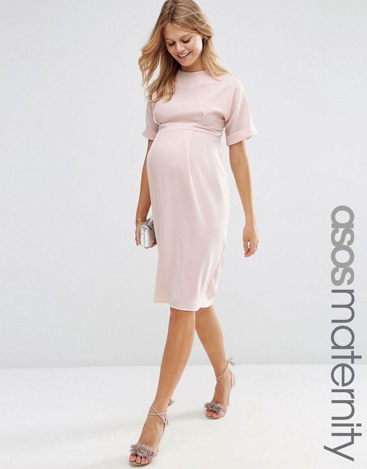 Image 1 ofASOS Maternity Wiggle Dress