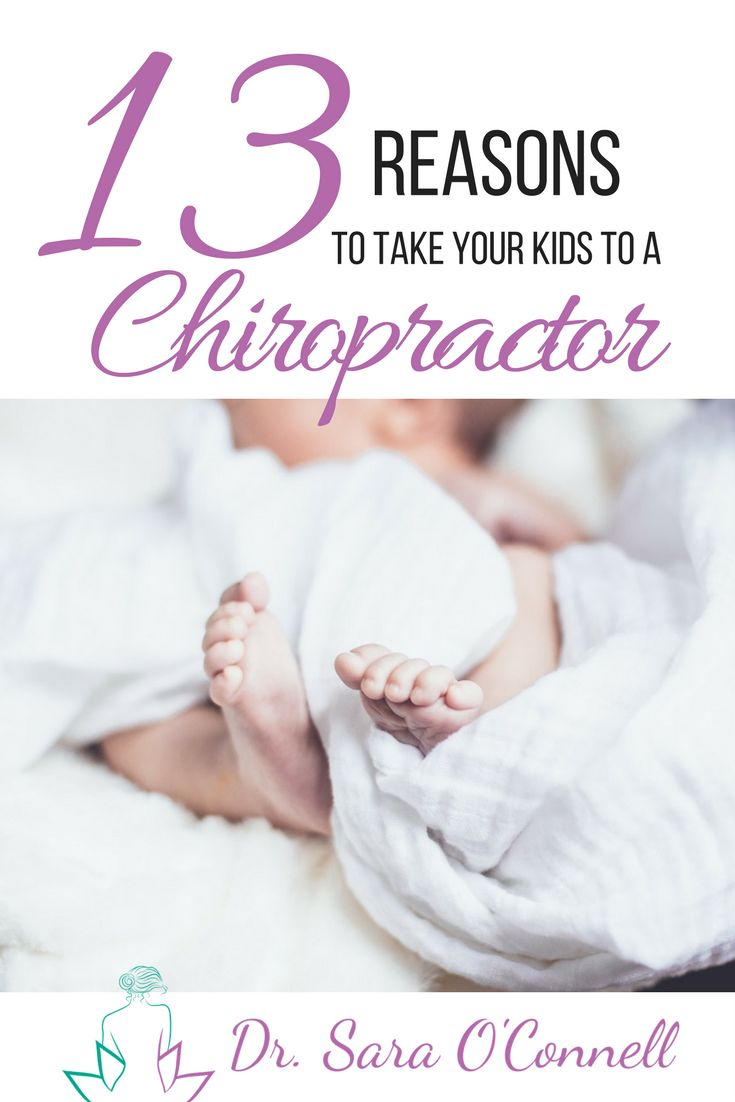 Chiropractic care for children may be one of the safest forms of health care available!   Here are some Common reasons you may want to take your kids for a visit to the chiropractor:  🔹recurrent ear infections 🔹breastfeeding difficulties 🔹sleep disturbances 🔹allergic reactions 🔹chronic infection 🔹persistent sore throats and colds 🔹colic/reflux 🔹asthma 🔹scoliosis 🔹headaches 🔹bedwetting and/or constipation 🔹growing pains 🔹ADHD  So will you take your kids to a chiropractor?