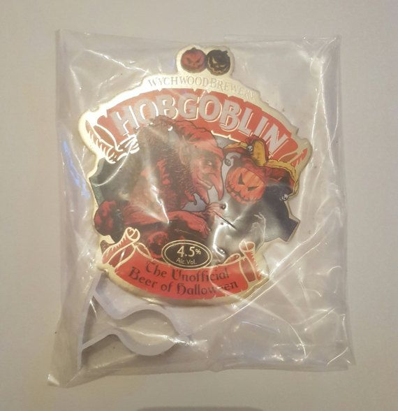 Check out this item in my Etsy shop https://www.etsy.com/uk/listing/498019526/hobgoblin-beer-pump-badge-clip