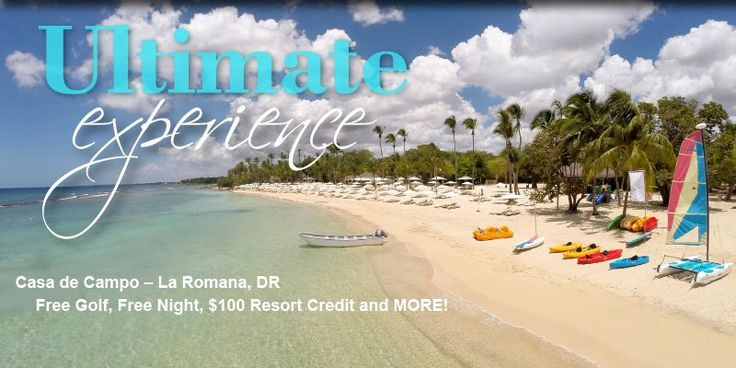 Casa de Campo – La Romana, DR - Free Golf, Free Night, $100 Resort Credit and MORE! - https://traveloni.com/vacation-deals/casa-de-campo-la-romana-dr-free-golf-free-night-100-resort-credit/ #vacation #caribbean #laromana #luxury #golfvacation