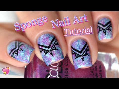 Best 25 sponge nail art ideas on pinterest diy ombre nails no nail art sponge nails tutorial super facile melyne nailart youtube prinsesfo Image collections
