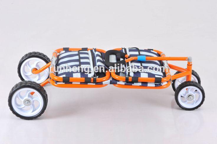 Nuevo dise o 4 ruedas de metal uso en el hogar - Carretilla de mano plegable ...