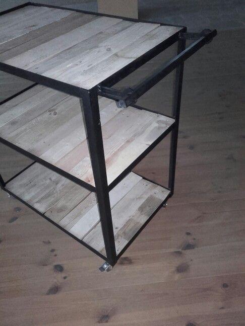 workshop trolley ; handmade