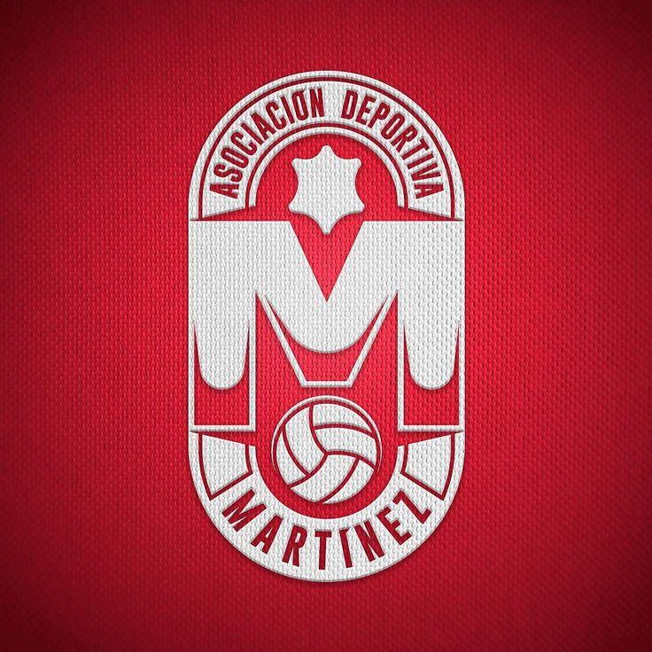 #logotype #logotipo #admartinez #soccer #futbol #escudo #shield #design #vector #art #dozagonza #illustration #red #black #white #ubrique #cadiz #spain.
