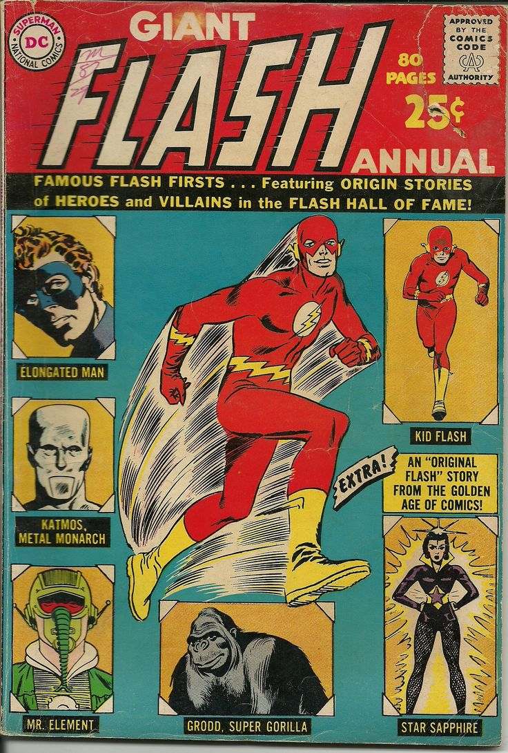 "OLD! Fateful firsts from ""The Flash,"" including - Kanigher had the first Flash fight a Star Sapphire before Broome had Green Lantern fight one?"