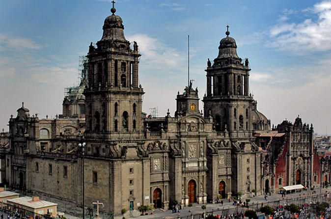 Before the Spaniards demolished it, the Teocalli of Tenochtitlán covered the site where the cathedral now stands, as well as the blocks to its north and east. I…