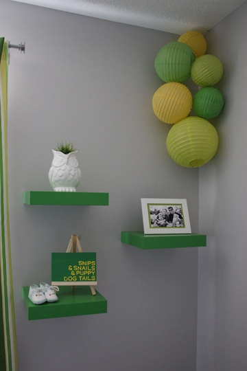 Doing it right pantone 39 s emerald in children 39 s rooms - How to mix emerald green paint ...