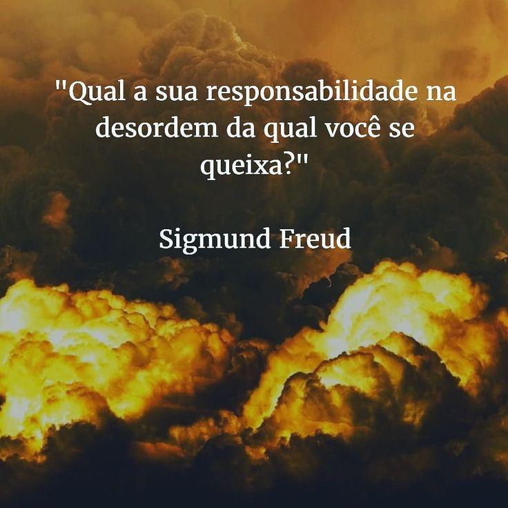 Qual a sua responsabilidade na desordem da qual você se queixa? Freud mandando aquele direto no queixo.