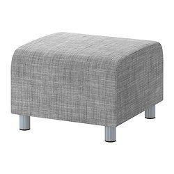 KLIPPAN Pouf - Isunda gris - 89€