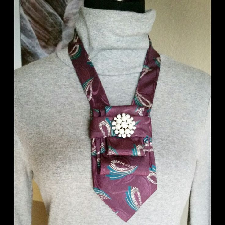 Upcycled ties make great statement pieces that look great with casual and formal attire. Find yours at Desert Pearl Designs. Shop now!