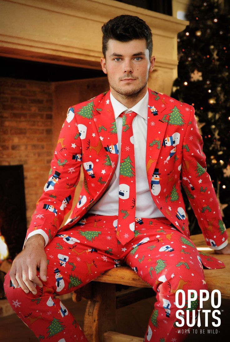 You may know we at Pursuit used to also open seasonal ugly sweater shops so naturally you've asked us for ugly sweater suits and we've complied. You'll be the hit of your holiday party in this! Fit: S
