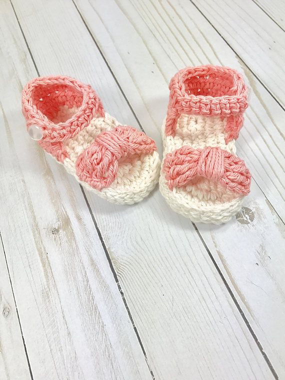 Zapatos de bebé sandalia de bebé ganchillo sandalia de bebé