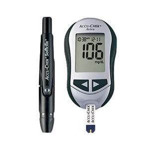Accu-Chek Aviva Plus Diabetes Blood Glucose Meter Kit