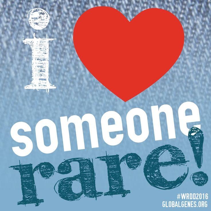 Share if you love someone RARE!