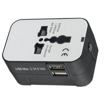Buy 2016 New universal global multi-function socket adapter travel converter plug 5 Different Input Plugs Tightly Connect into 1 Adaptor(black and white) online at Lazada. Discount prices and promotional sale on all. Free Shipping.