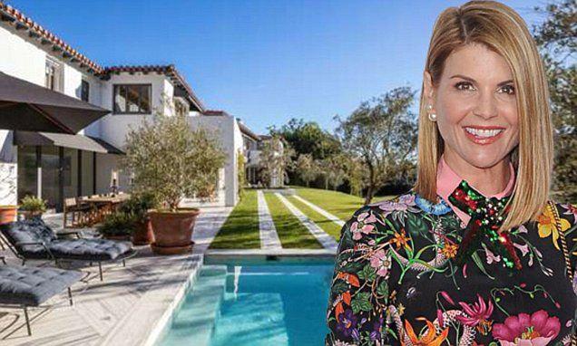 Lori Loughlin lists neo-Mediterranean Bel-Air mansion