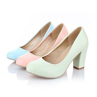 vrouwen dikke hak ronde neus hakken schoenen (meer kleuren) - EUR € 22.72