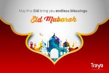 May this Eid bring you endless blessings. Eid Mubarak :)