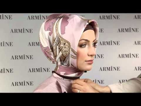 Turkish Hijab tutorial the model is so beautifull and smiley