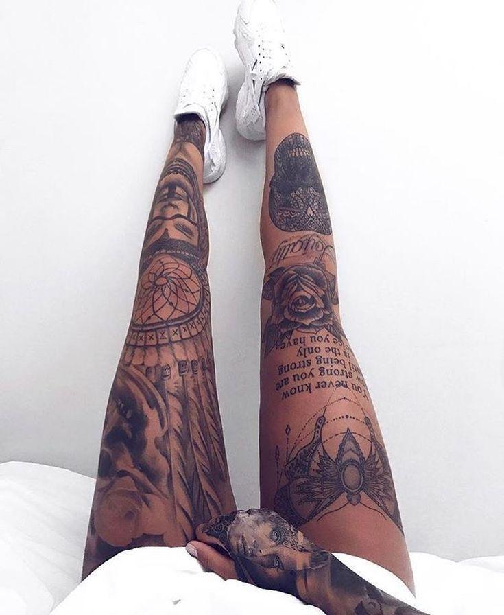 Pin by Jennifer Lawrence on Leg Tattoos | Leg tattoos ...