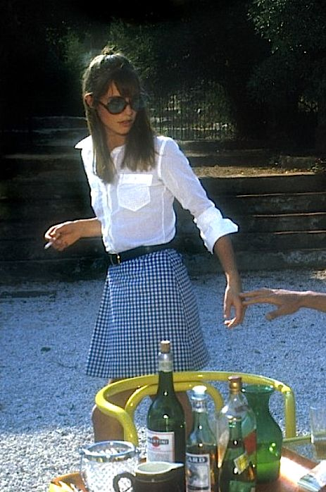 "Jane Birkin in ""La Piscine,"" 1969 