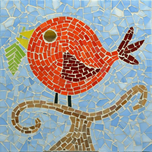 17 best images about mosaic birds on pinterest herons for Mosaic art pictures