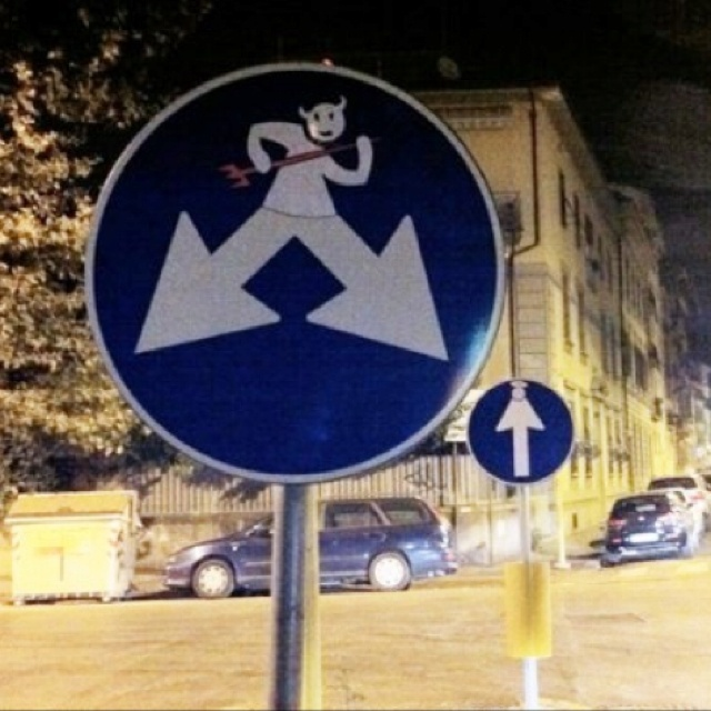 Best Straatkunst Images On Pinterest Urban Art Street - Brilliant street artist modifies road signs giving them a whole new meaning