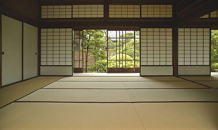 The kaiteki authentic japanese style tatami mats are the for Japanese tatami room design