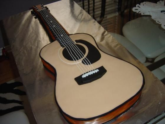 the canadian living crazy cakes contest acoustic guitar stuff to try pinterest. Black Bedroom Furniture Sets. Home Design Ideas