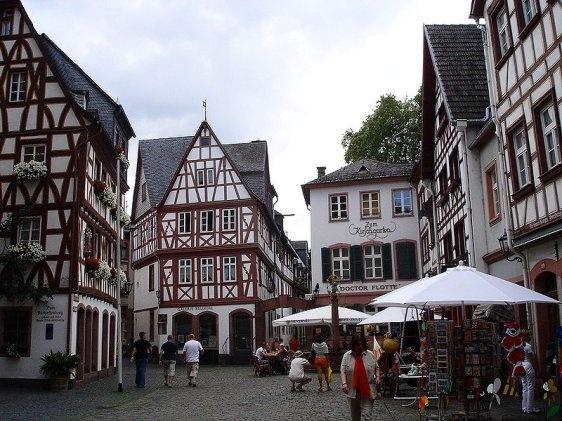 Kirschgarten, Mainz - lived right around the corner from here!