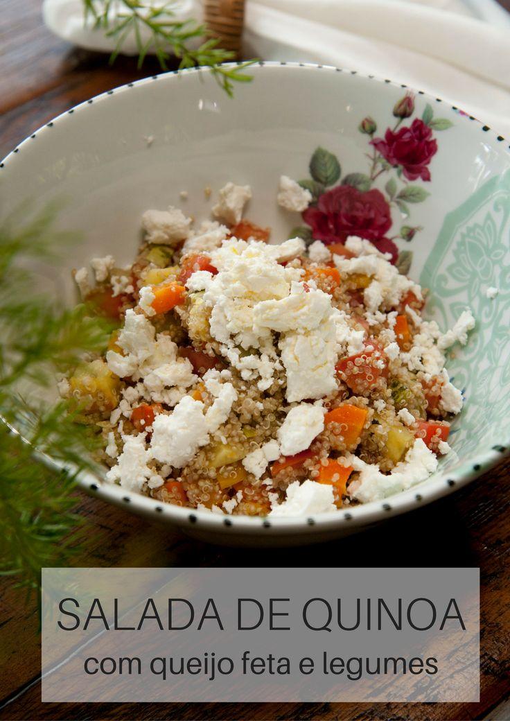 Dica: um vinagrete com ervas frescas, vinagre e azeite acompanha super bem essa salada