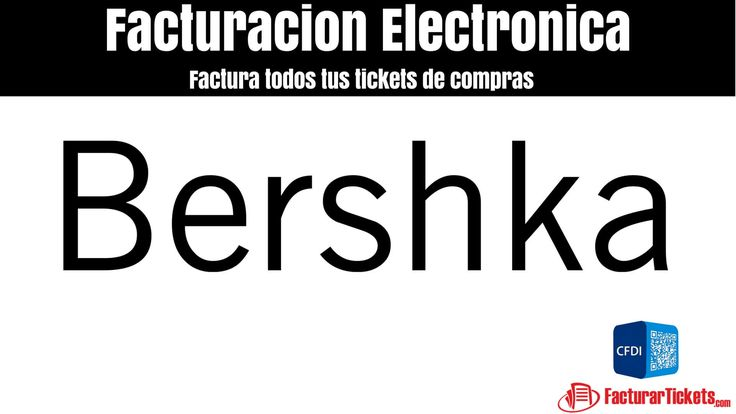 Facturacion Bershka xml y pdf