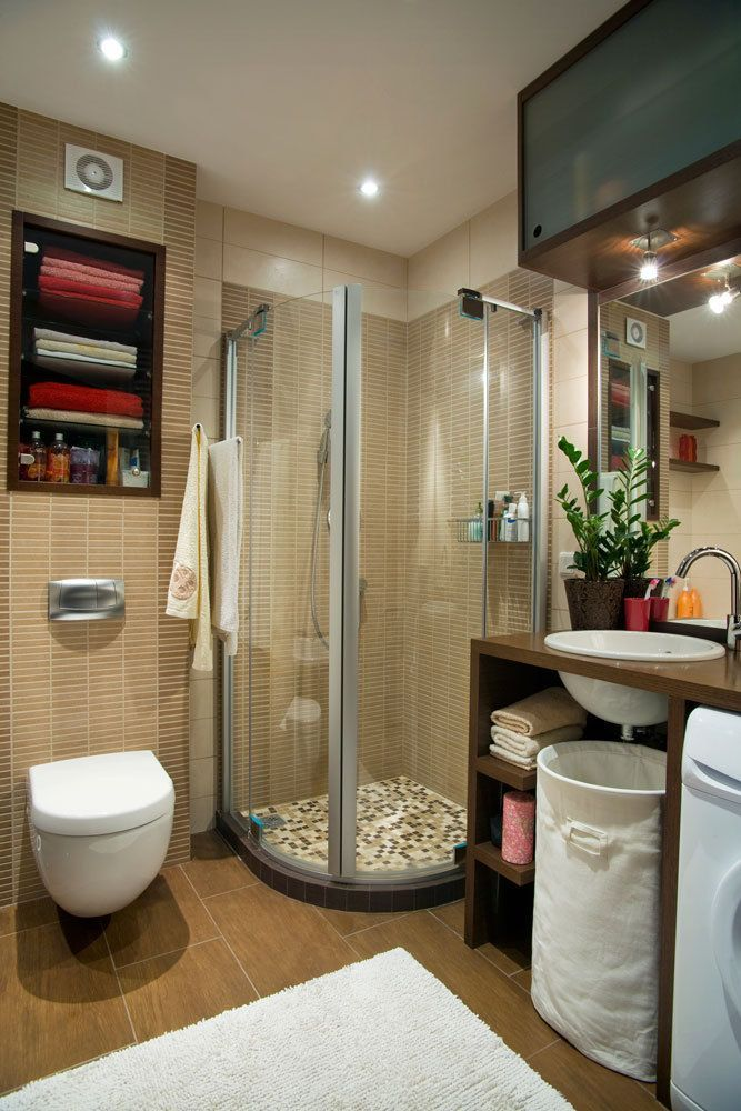 small bathroom ideas 6 ◆Well done!!!  I'm impressed with this space and all that was able to fit into it!◆
