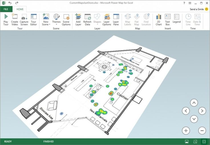 Excel Power Map September update