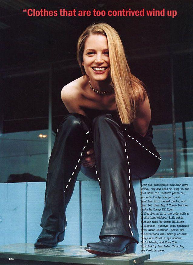 Allure, July 1999  Model: Bridget Fonda  Photographer: Elfie Semotan