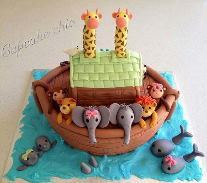 Baby Shower Cakes Perth Wa ~ Best images about noah s ark party baptism or baby