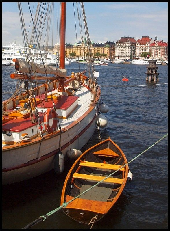 The Beauty of Boats, Stockholm, Sweden Copyright: David Reed Thomas