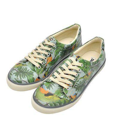Look at this #zulilyfind! Green Birdy Sneaker #zulilyfinds