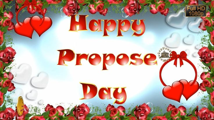 Happy Propose Day 2018,Wishes,Whatsapp Video,Greetings,Animation,Message...