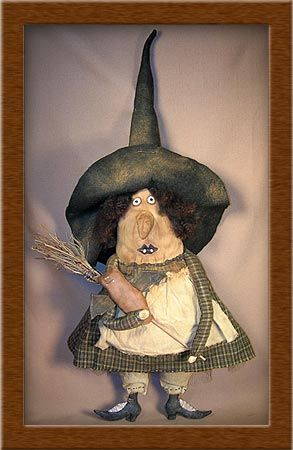 Sister Bats Beecham, of the Bedford Benevolent Society for Retired Witches and their furry friends, by Soft in the Head