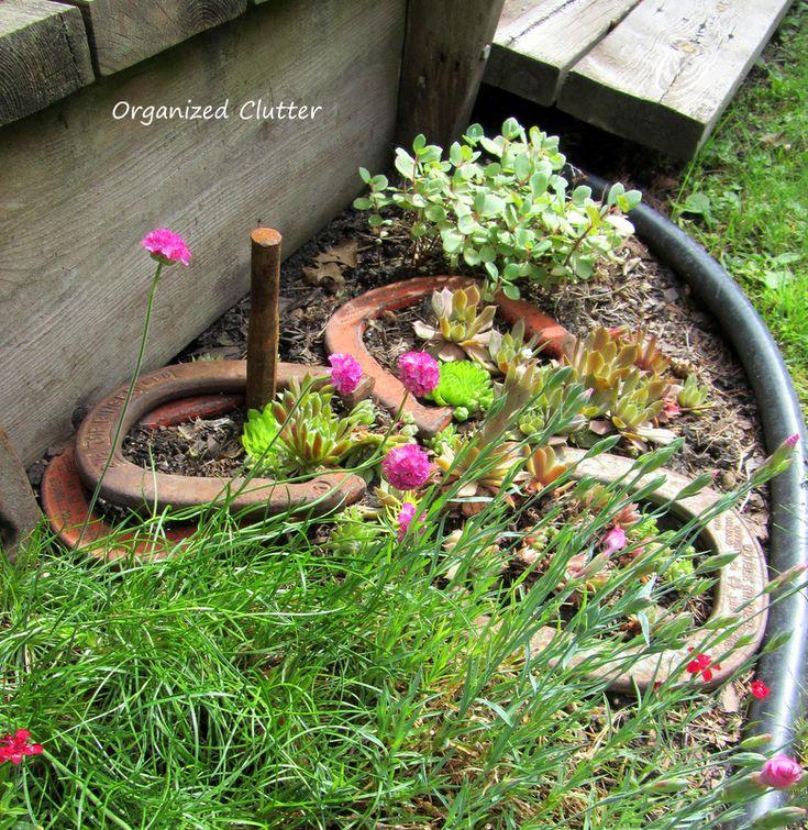 Garden Junk Ideas Galore 2014 Round Up: 17 Best Images About Junk Gardening On Pinterest
