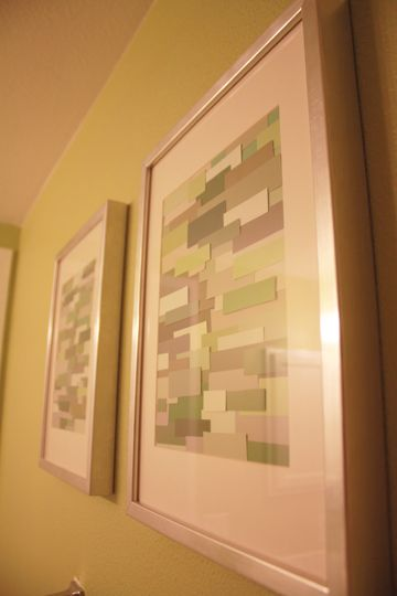 Fancy Paint Chip Wall Art Pictures - Wall Art Collections ...