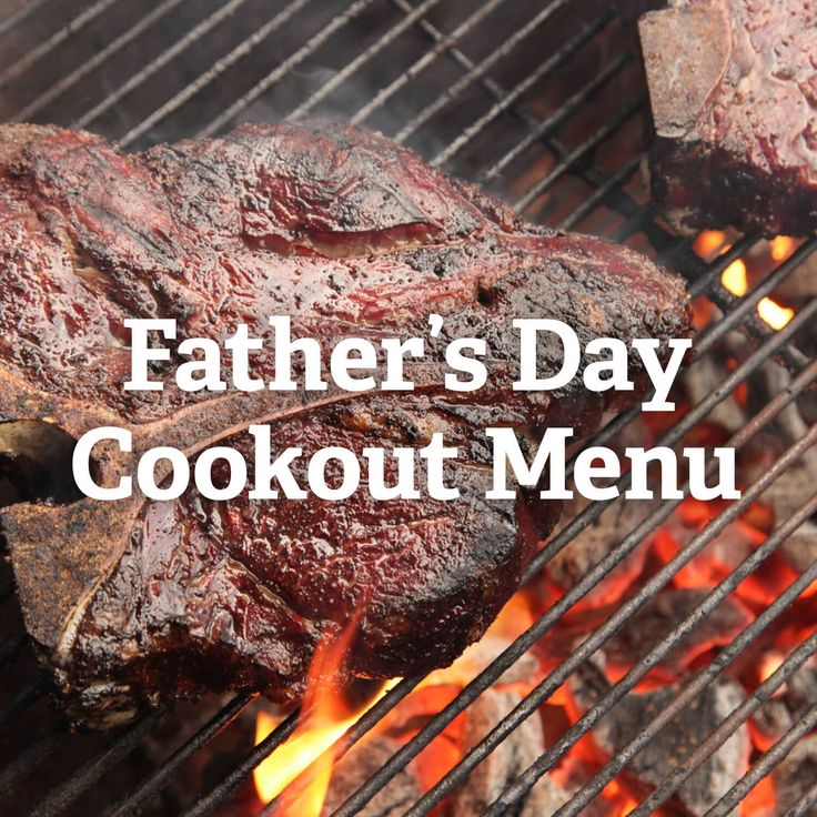 An impressive grilled feast to satisfy any dad.