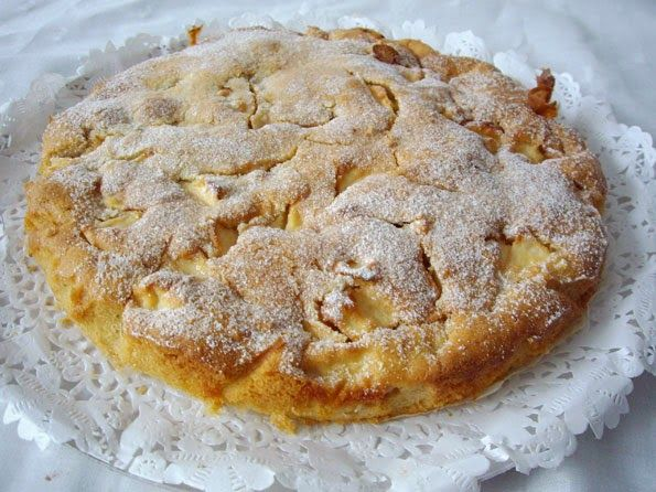 Comparte Recetas - tarta sueca de manzana