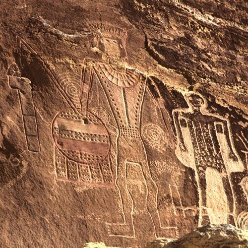 The Uinta Basin in Northeastern Utah features some of the finest rock art in Utah and a very distinct subdivision of Fremont Style, Classic Vernal Style