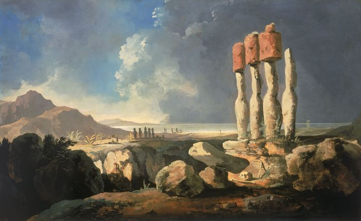 william-hodges-a-view-of-the-monuments-of-easter-island-rapanui.jpg (2500×1536)