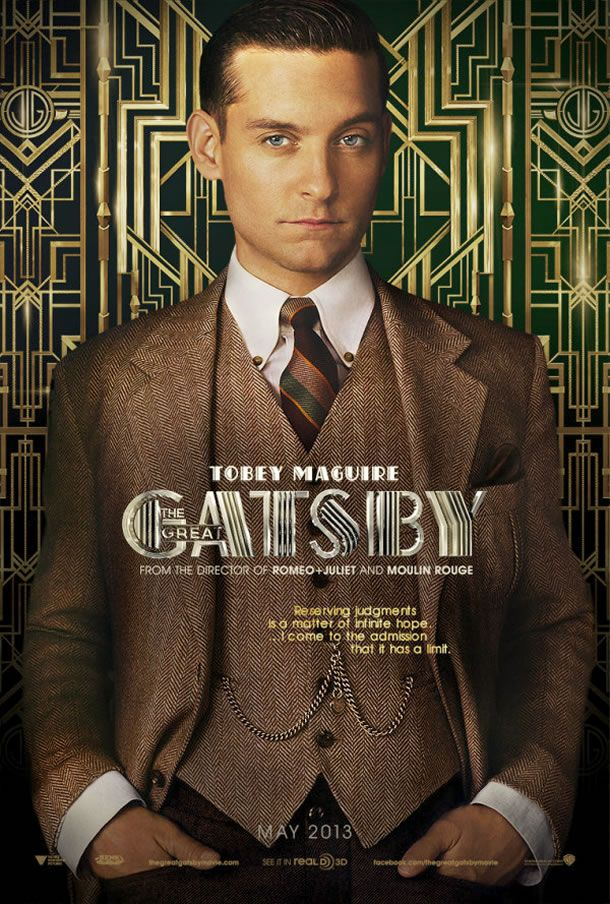 Tobey Maguire - The Great Gatsby