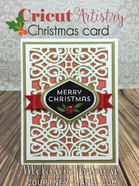 Cricut Card Making Ideas Part - 27: Cricut Artistry Christmas Card